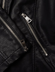 ONLY Carmakoma - CAREMMY FAUX LEATHER BIKER NOOS - leather jackets - black - 5