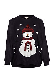 CARSNOWMAN LS PULLOVER - NIGHT SKY