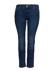 CARVEVA LIFE STR REG STBB SOO732AB - MEDIUM BLUE DENIM