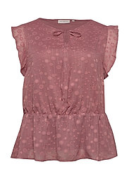 CARSENA SL TOP - WITHERED ROSE
