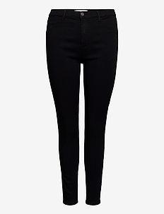 CARSTORM PUSH UP HW SK JEANS  NOOS - slim jeans - black
