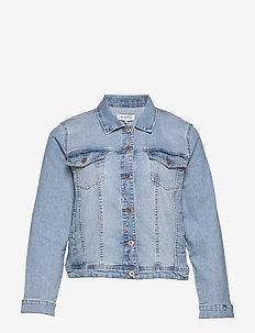 CARLOCK DNM JACKET - jeansjakker - light blue denim