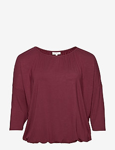 CARMOJO 3/4 BALOON TOP ESS - t-shirty basic - tawny port
