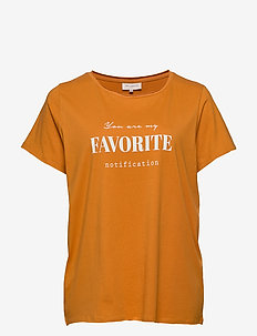 CARPETRA SS TEE - GOLDEN OAK
