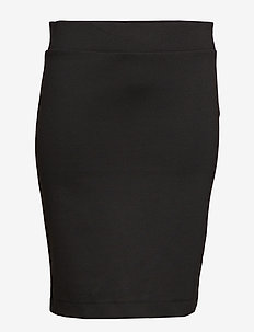 CARTINA KNEE SKIRT - BLACK
