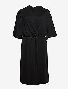 CARBEA 2/4  BLK DRESS - BLACK
