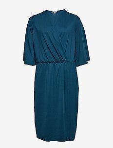 CARBEA 2/4  BLK DRESS - BLUE OPAL