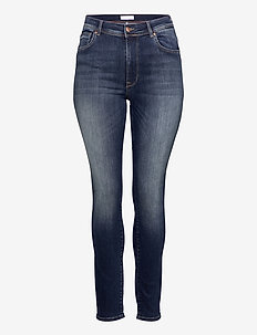 CARMAYA HW SK SHAPE UP JNS REA9820 - slim jeans - dark blue denim