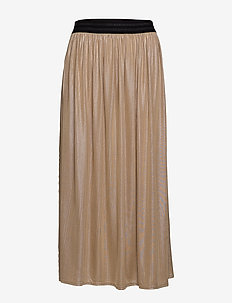 CARLAM MAXI SKIRT - FROSTED ALMOND