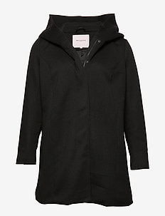 CARSEDONA LIGHT COAT OTW - BLACK