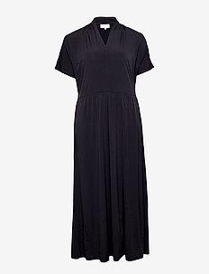 CARELINA SS MAXI DRESS - BLACK