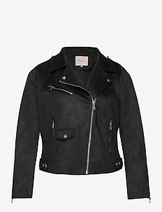 CARSHERRY   BONDED BIKER OTW - leather jackets - black