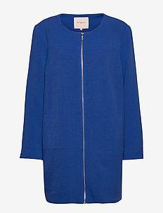 CARKATHARINA SPRING COAT OTW - lette jakker - mazarine blue