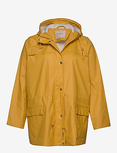 CARRAINDROP LS JACKET - YOLK YELLOW