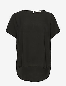 CARLUXCAM SS TOP SOLID - basic t-shirts - black