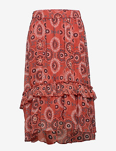 CARTRUST MAXI SKIRT - HOT SAUCE