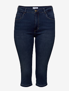 CARAUGUSTA LIFE HW SKINNY KNICKERS MBD - skinny jeansy - medium blue denim
