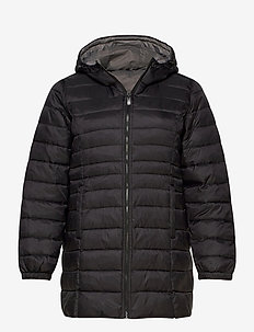 CARTAHOE QUILTED COAT OTW - quilted jackets - black
