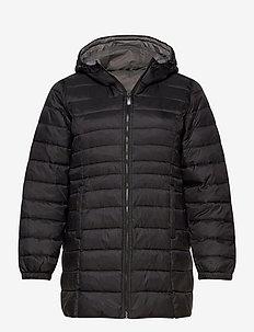 CARTAHOE QUILTED COAT OTW - pikowana - black