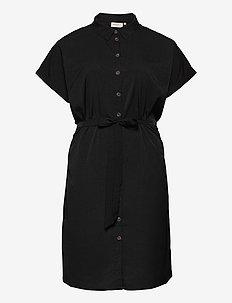 CARDIEGA SS BLK DRESS - summer dresses - black