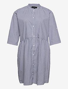 CARCHICAGA 3/4 SL S LIFE  DNM DRESS - shirt dresses - white