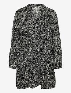 CARLOLLI LS TUNIC DRESS - tunieken - black