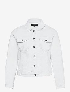 CARWESPA LIFE LS JACKET WHITE - lichte jassen - white
