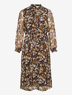 CARFLOWERFIELD L/S CALF DRESS - kveldskjoler - ash rose