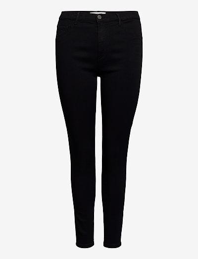 CARSTORM PUSH UP HW SK JEANS - slim jeans - black
