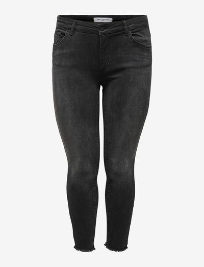 CARWILLY REG ANK SKINNY JEANS BLACK - skinny jeans - black