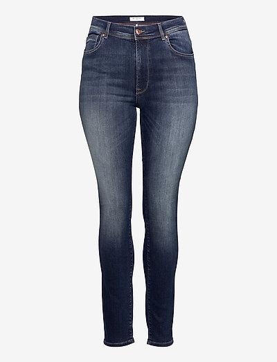 CARMAYA HW SK SHAPE UP JNS REA9820 - slim jeans - dark blue denim