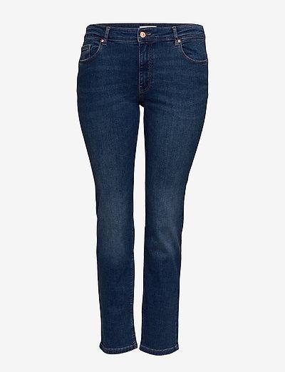 CARVEVA LIFE STR REG STBB SOO732AB - slim jeans - medium blue denim
