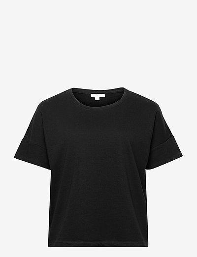 CARISSY LIFE SS TOP SWT - t-shirts - black