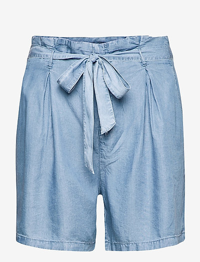 CARJEMMA LIFE DNM SHORTS - denim shorts - medium blue denim