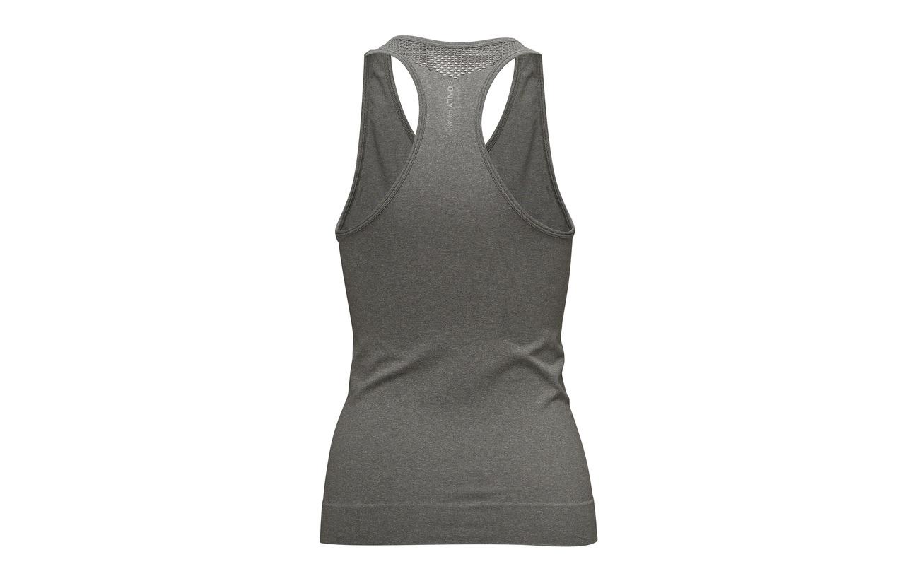 Elastane Grey 5 Only Polyamide Opus Melange Seamless Top Onpchristina Medium Sl Play 95 wqw4f7Sp