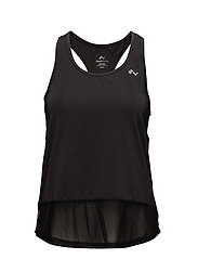 onpDANDY MESH TRAINING SL TOP - BLACK