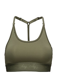 onpMOUSSE TRAINING SPORTS BRA - FOUR LEAF CLOVER