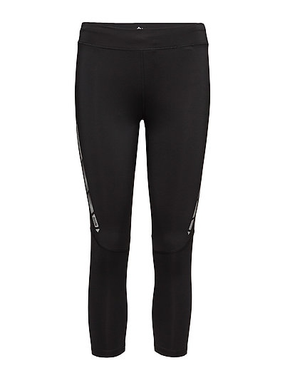 onpSTEF RUN 3/4 TIGHTS - BLACK