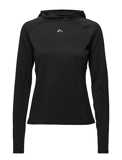 onpEFFY RUN HOOD SWEAT - BLACK
