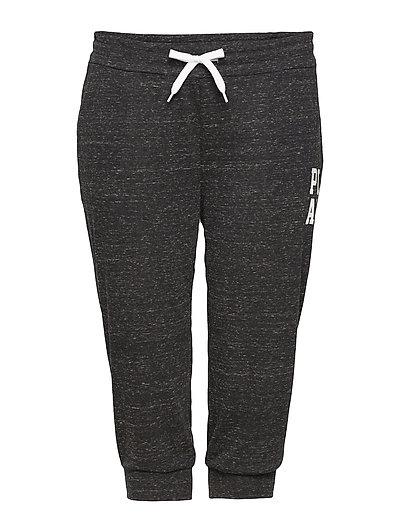 onpHALLE 3/4 REGULAR SWEAT PANTS CURVY - BLACK