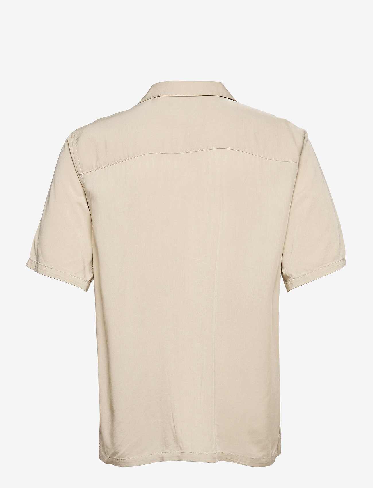 ONLY & SONS - ONSSCOTTIE LIFE SS UTILITY RELAXED SHIRT - koszule w kratkę - pelican - 1