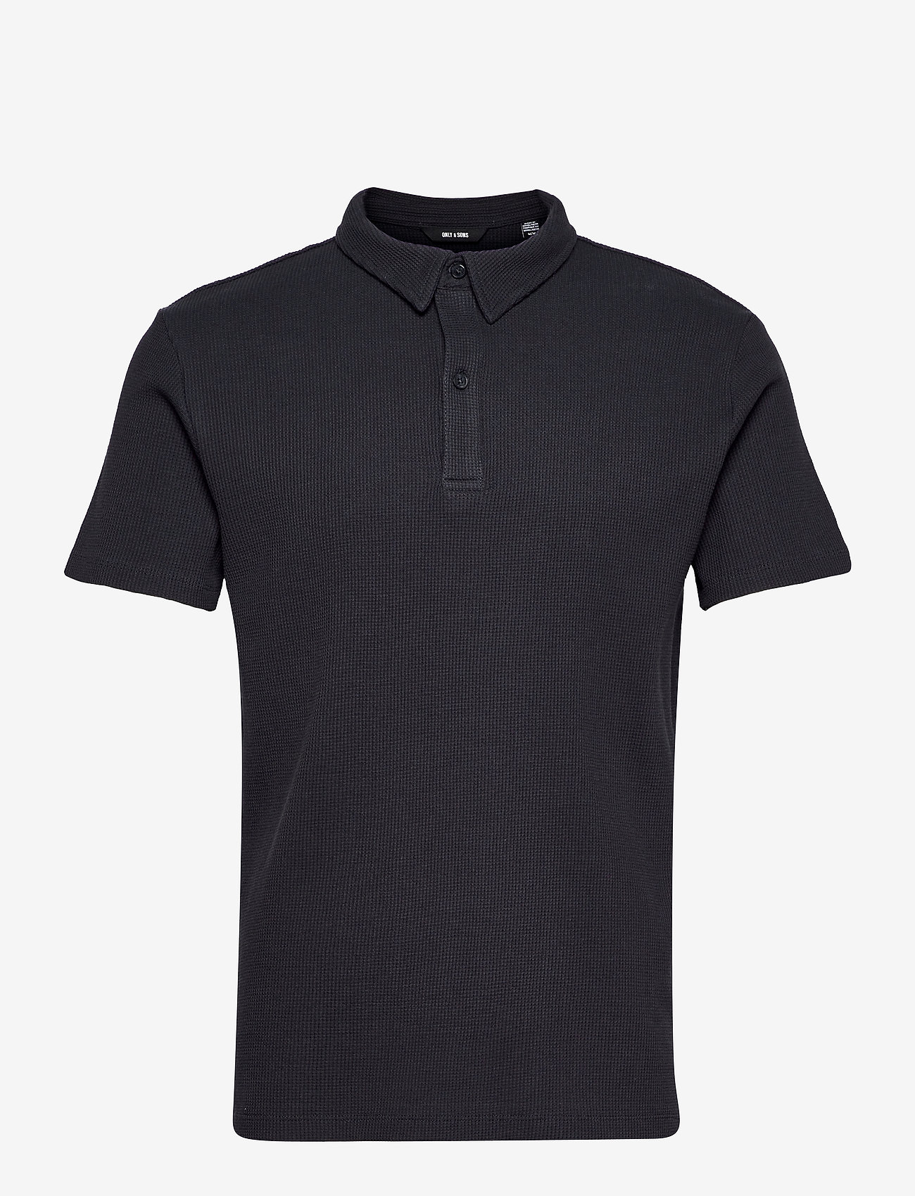 ONLY & SONS - ONSALF LIFE REG SS POLO - polos à manches courtes - dark navy - 0