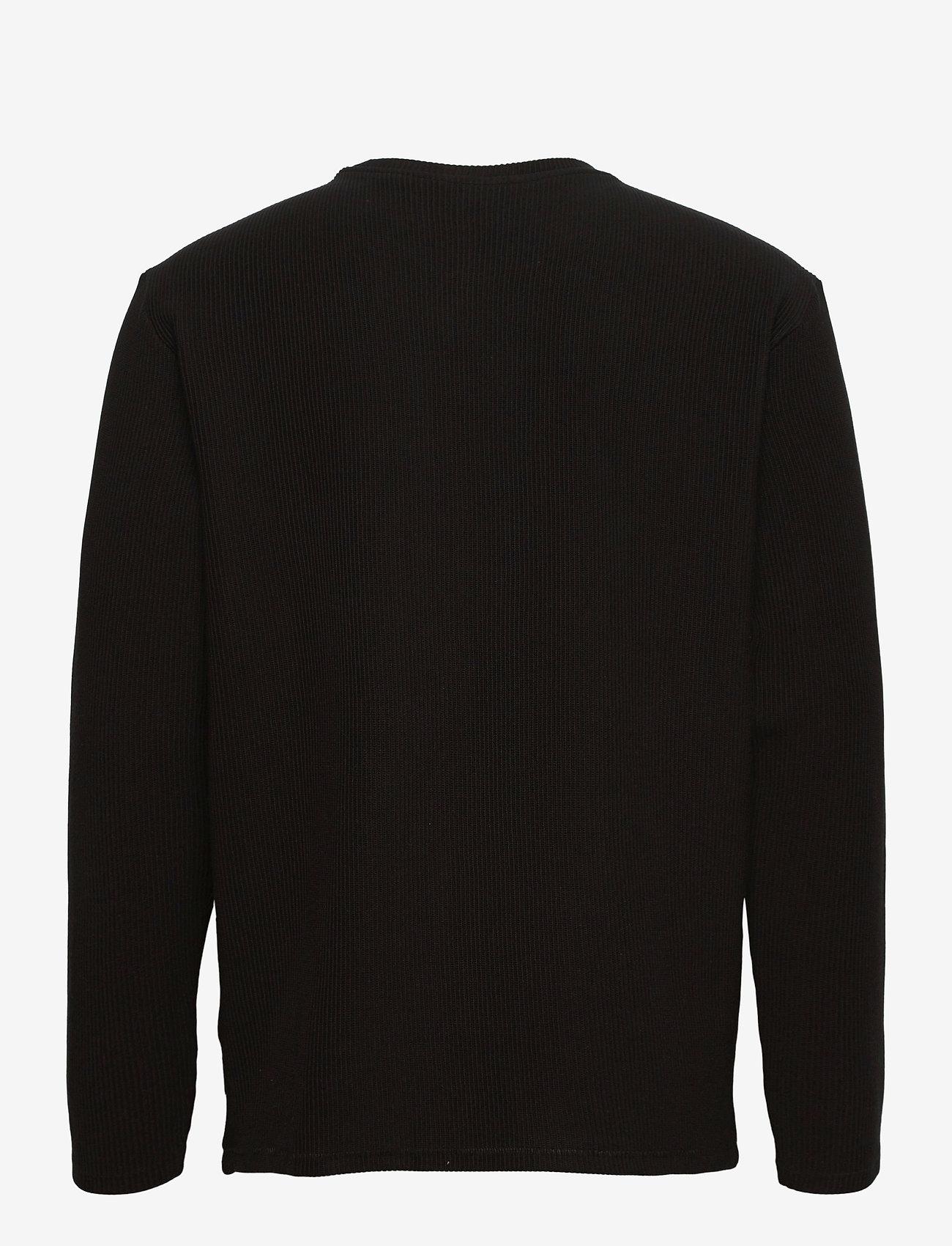 ONLY & SONS - ONSBERKELEY LIFE REG CREW NECK SWEAT - swetry - black - 1