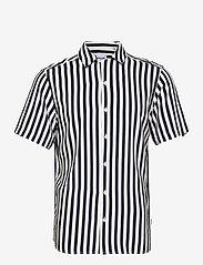 ONSWAYNE LIFE SS VISCOSE SHIRT - DRESS BLUES