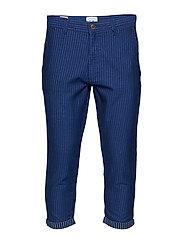 onsBEAM BLUE STRIPE PANTS EXP - BLUE DEPTHS