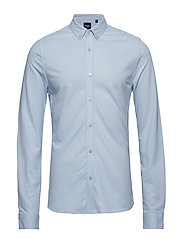 onsPIQUE LS SHIRT EXP RE - CASHMERE BLUE