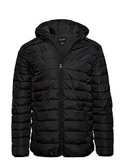 onsLINER PUFF HOOD JACKET EXP RC - BLACK