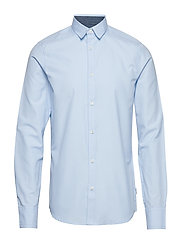 onsTRAVIS LS THIN OXFORD SHIRT RE - CASHMERE BLUE