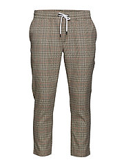 onsBART CHECKED PANTS EXP - CROCKERY