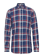 onsFLANNEL LS CHECK SHIRT EXP - HAUTE RED